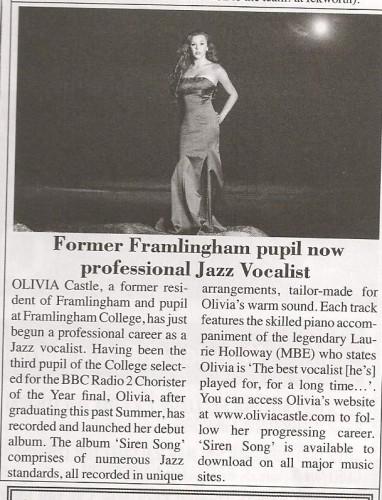 Framlingham Community News