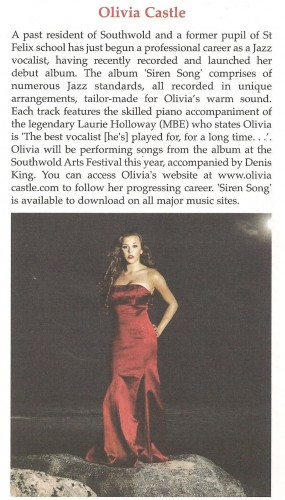 Southwold Gazette article